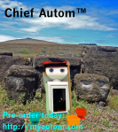 Chief Autom on Easter Island